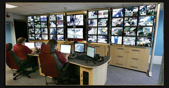 cctv manned control room